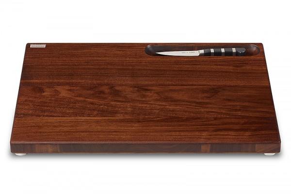Brett Nuss XL inkl Messerfach+Messer 50x35x3,8cm