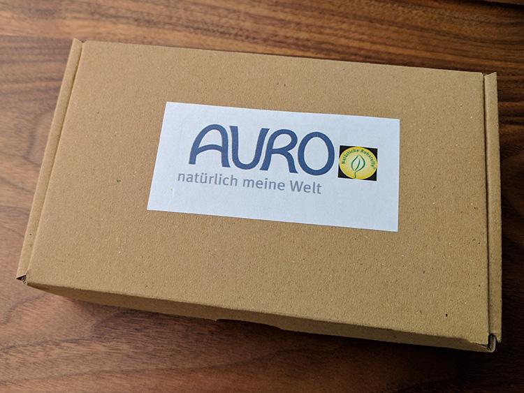 Pflegeöl der deutschen Firma Auro