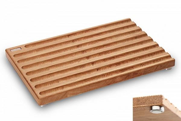 Brotschneidebrett Eiche 45x29x3,8 cm
