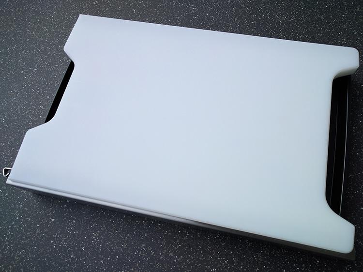 Schneidbox Kunststoff ohne Saftrille