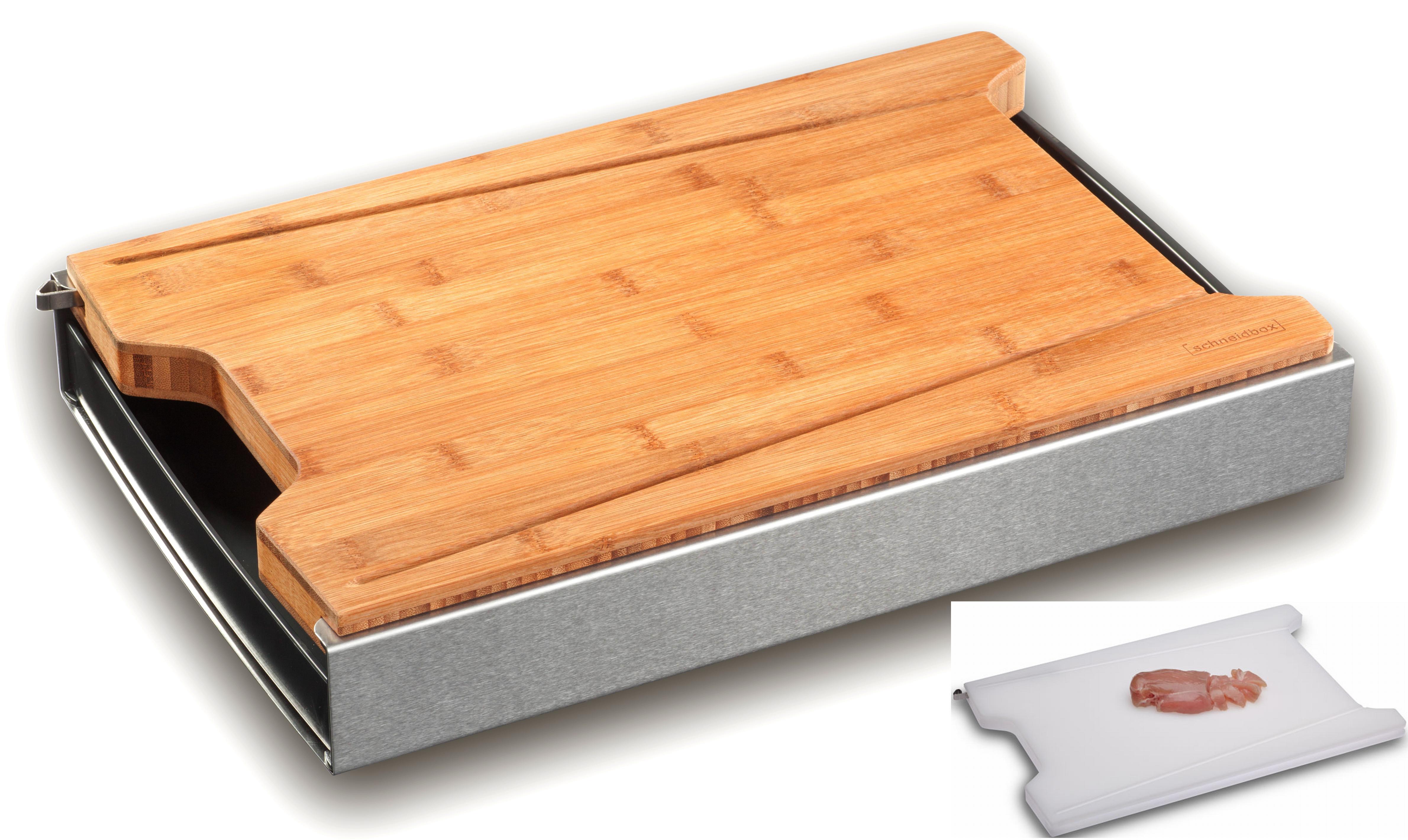 Schneidbox Bambus inkl. PE Brett