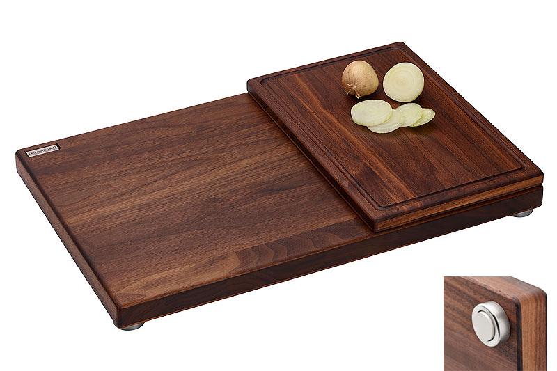 schneidebrett set nussbaum mit zwiebelbrett nussbaum. Black Bedroom Furniture Sets. Home Design Ideas