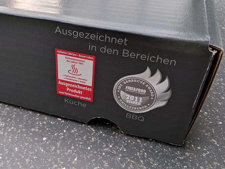 Auszeichnungen Schneidbox