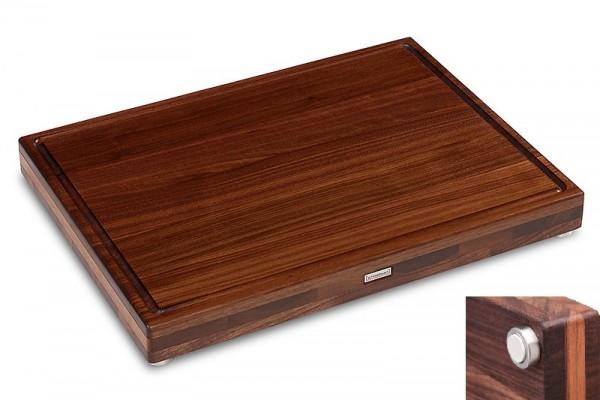 Schneidboard Nussbaum Premium S+ 53x40x6