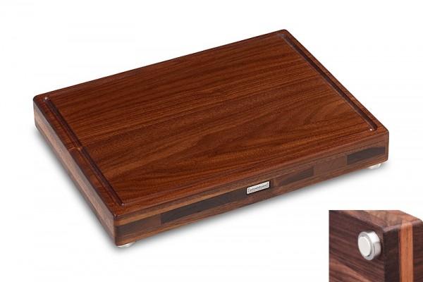 Schneidboard Premium Nussbaum Medi S+ 40x30x6cm